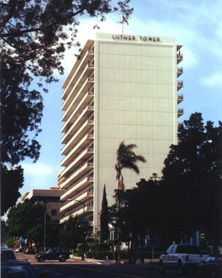Luther Tower   Senior HUD Apartments. 1455 Second Ave San Diego, CA ...
